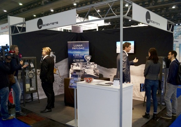PTScientists @ Space Tech Expo Europe